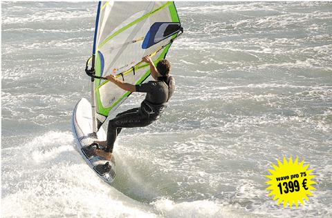 naish wave us1111 pro 75/2007